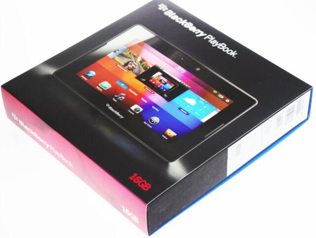 """NEW-16GB BlackBerry 7"""" PlayBook Tablet WiFi PRD-38548-001 P100-16WF RDJ21WW NA"""
