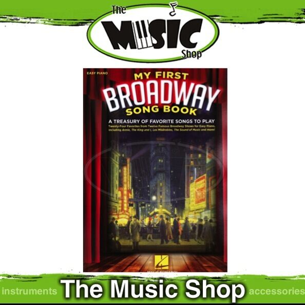 New My First Broadway Songbook Music Book for Easy Piano