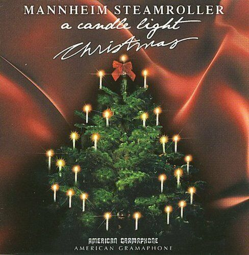 MANNHEIM STEAMROLLER - A CANDLELIGHT CHRISTMAS NEW CD