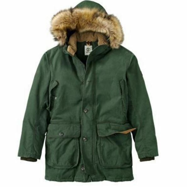 Timberland Men's Scar Ridge Waterproof Parka Jacket Coat A1akb001 ...