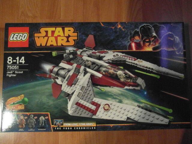 LEGO STAR WARS 75051 JEDI SCOUT FIGHTER NEU NEU NEU