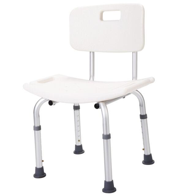Shower Chair Bath Adjustable Medical Tub Bench Stool Seat ...