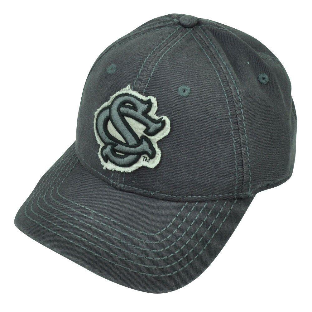 be549ec2481 ... shop ncaa south carolina gamecocks grey distressed snapback hat cap  sport 9a18d 097d0