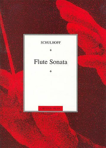 Erwin Schulhoff Flute Sonata Learn to Play Advanced Flute Sheet Music Book