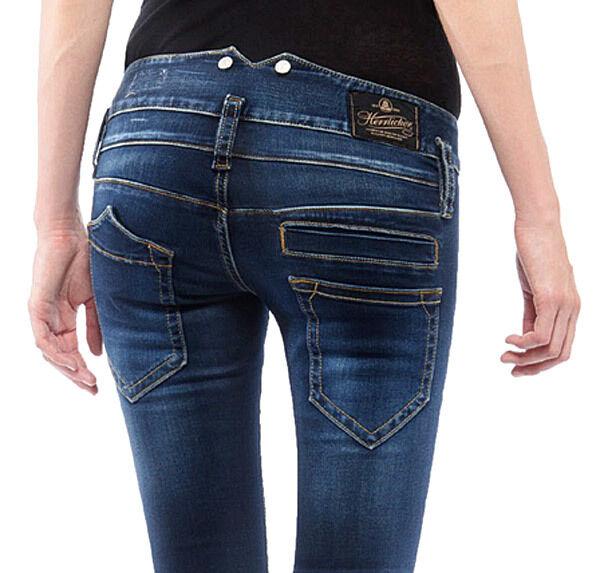 Herrlicher Pitch Slim Power Stretch Denim Clean Women's Jeans Trousers  W25-w31 W28 L32 | eBay