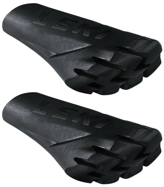 LEKI Nordic Walking Asphaltpads 1 Paar Gummipuffer Stock-Pads Power Grip Pads