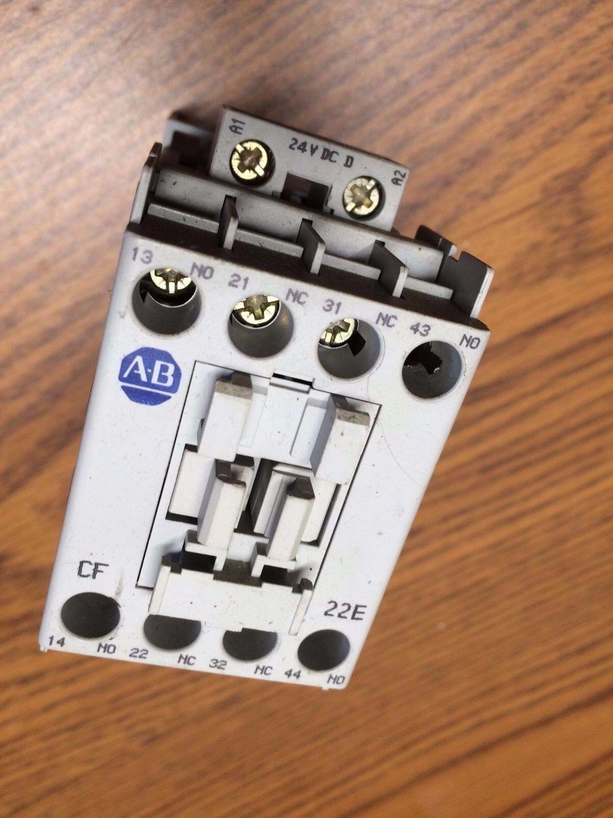 Allen Bradley 700cf220d Mcs Cf Control Relay 700 Cf220d Ebay No And Nc Contacts Of Cf220dj A 2no 2nc 24 Vdc Coil