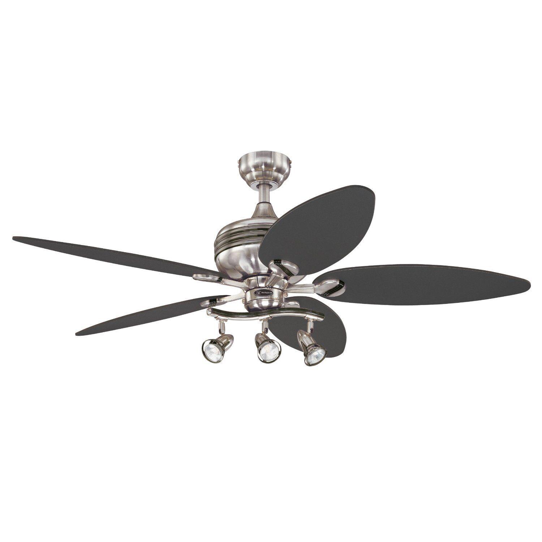 Westinghouse Xavier II 52 In Brushed Nickel Ceiling Fan