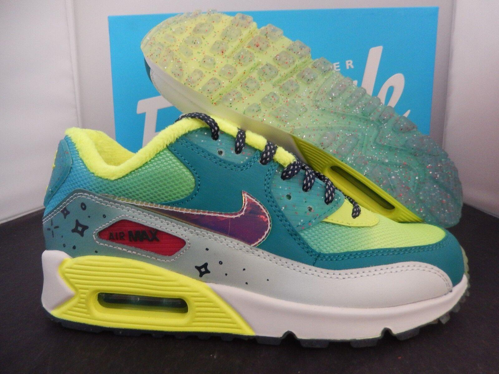 Nike Air Max 90 Women Yellow Black Sneakers Shoes  Nike 374