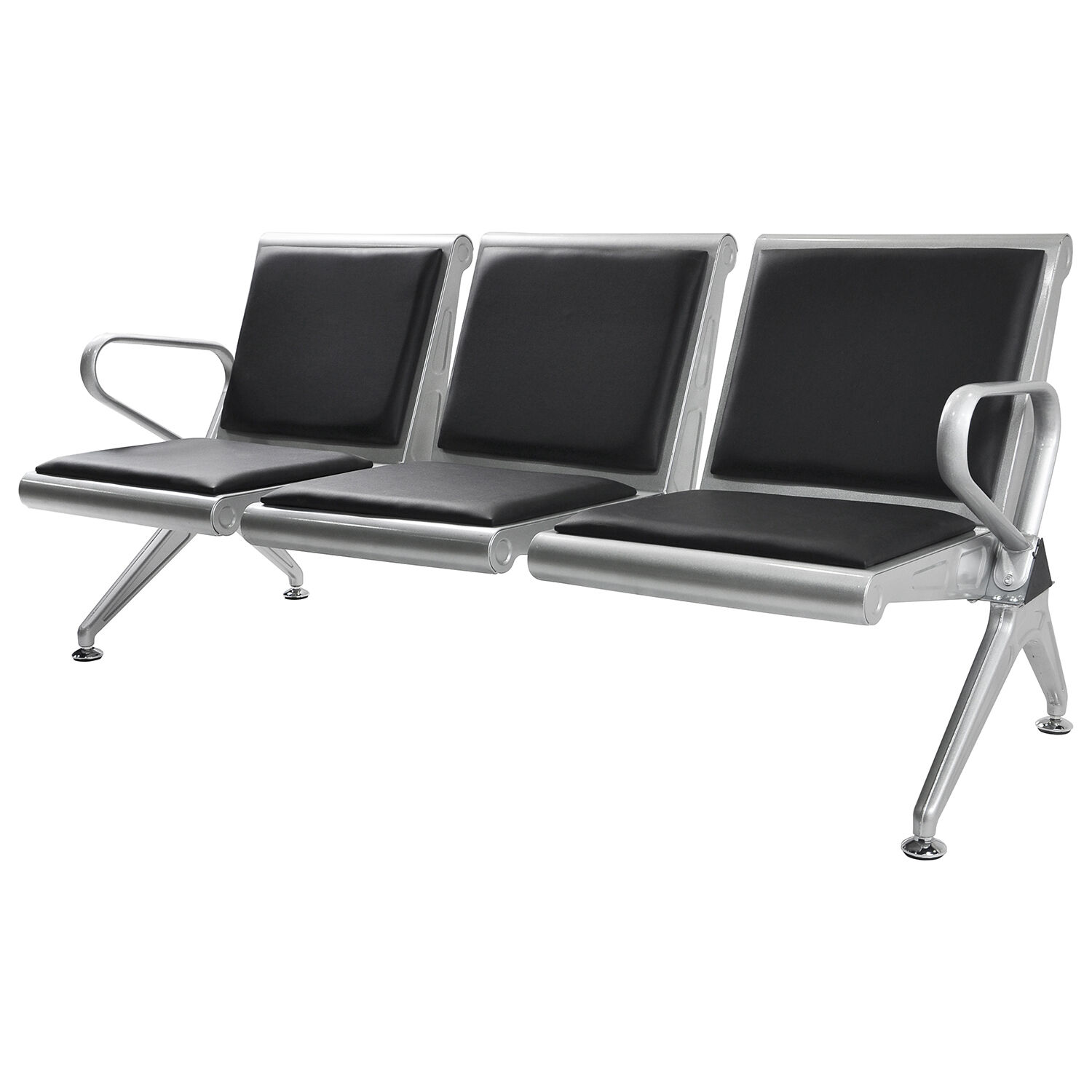 Heavy Duty 3seat Bench Salon fice Bank Airport Reception Waiting