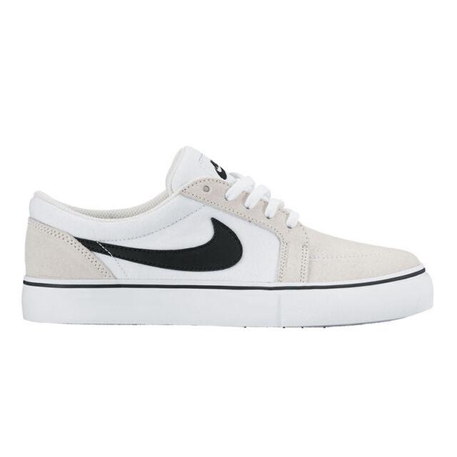 New Men's Nike SB Satire Canvas-  Grey/University Red/White/Black - Size 13