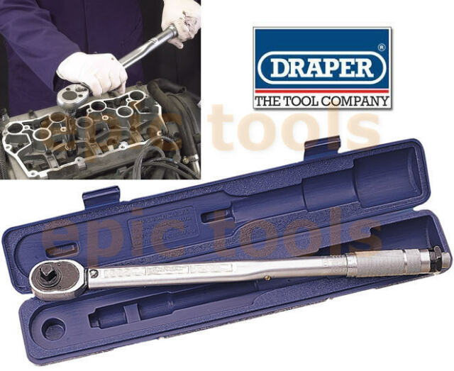 Draper 1.3cm Zoll Antrieb Mikrometer Ratsche wendbar Drehmomentschlüssel