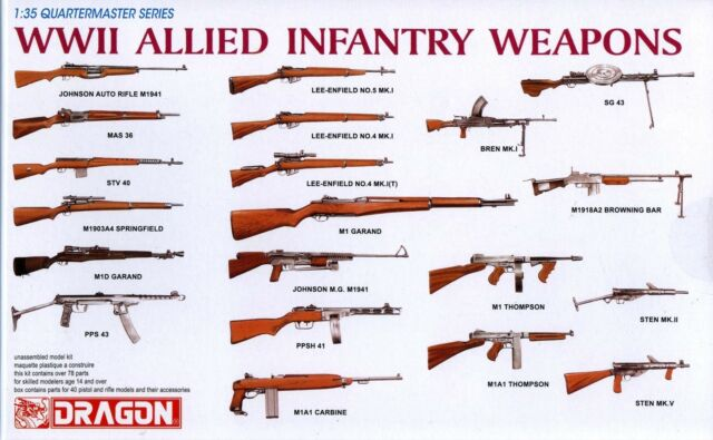 infantry weapons of world war 2 essay