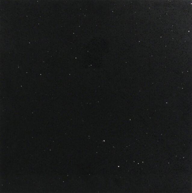 Bodenfliese Schwarz Quarz Komposit Quarzstein Glänzend 60x60 cm