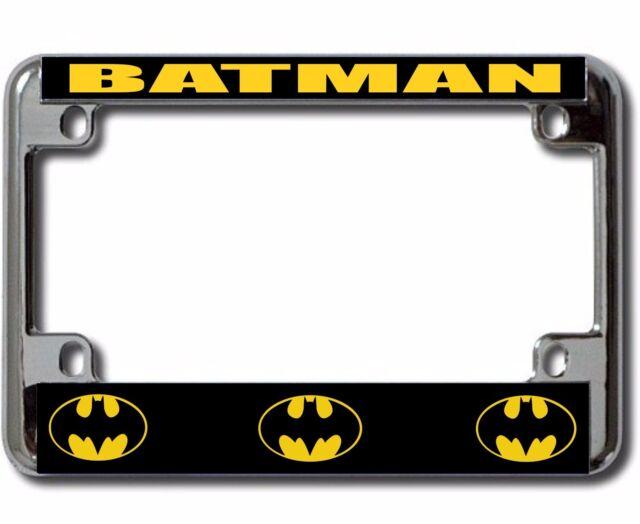 Batman Chrome Motorcycle License Plate Frame | eBay