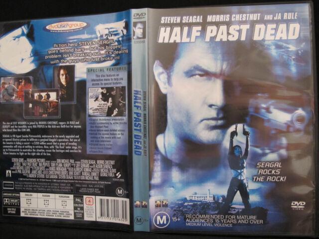 DVD Movie - HALF PAST DEAD - As New - Region 4