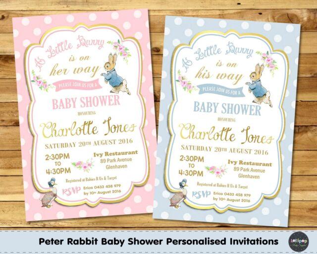 baby invite