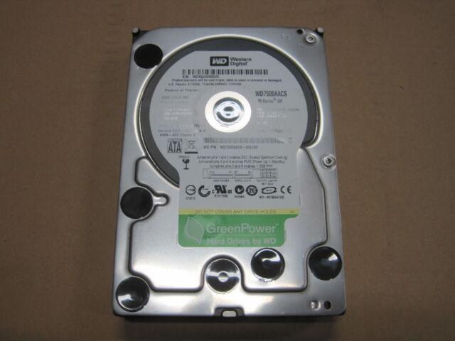Western Digital WD7500AACS | 750GB |  16 MB Cache | SATA HDD |#p055