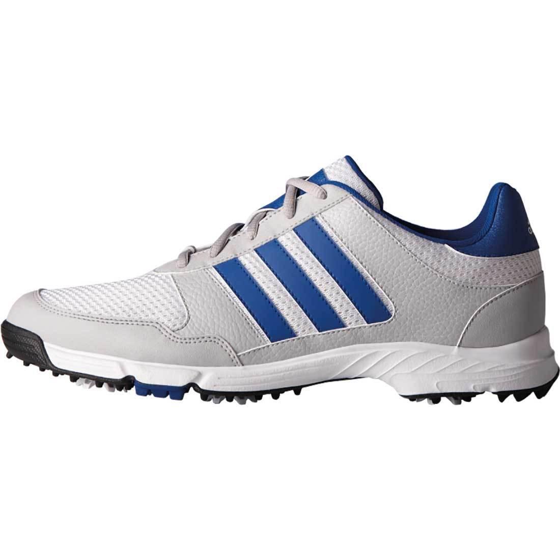 Adidas Uomo Tech Da Q44946 Ampia Risposta Scarpe Da Tech Golf Bianca / Silver cab604