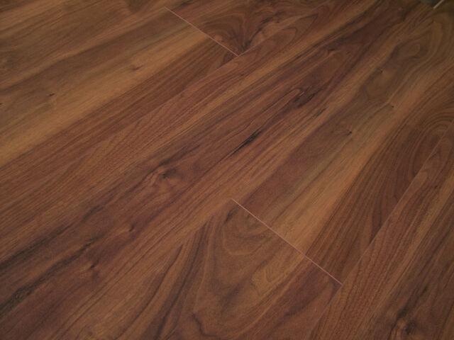 Pallet Deal American Walnut 4v Groove Laminate Flooring Ac4 21sqm Swiss Made