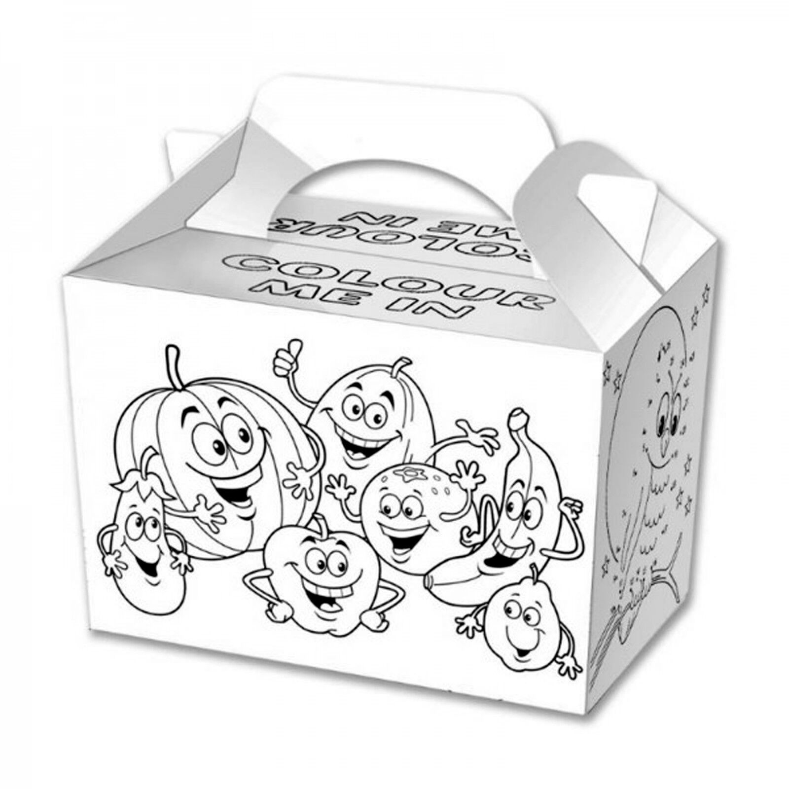 Party Food Boxes Kids Birthday Lunch Meal Fill Loot Bag Wedding ...
