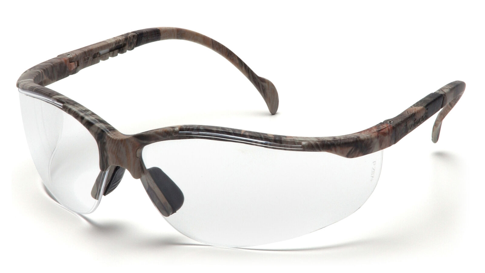 Pyramex Venture II SH1810S Safety Glasses Realtree Frames Clear Lens ...