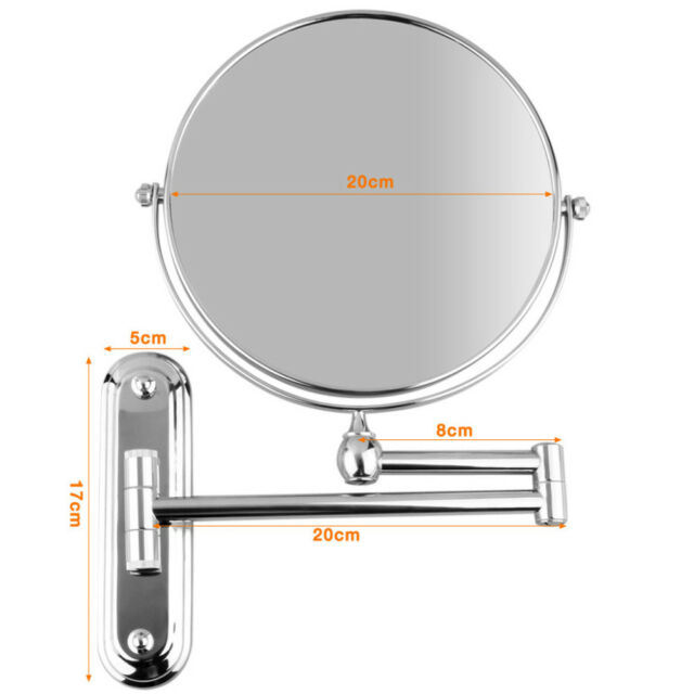 Extending Magnifying Bathroom Mirror. 10x Extending Magnifying Makeup Bathroom Shaving Round 2 Side Mirror Wall Mount
