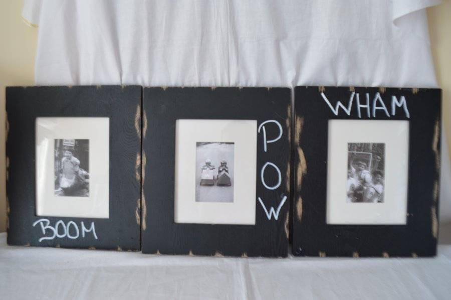 Set Of 3 Pottery Barn Kids Frames Ebay