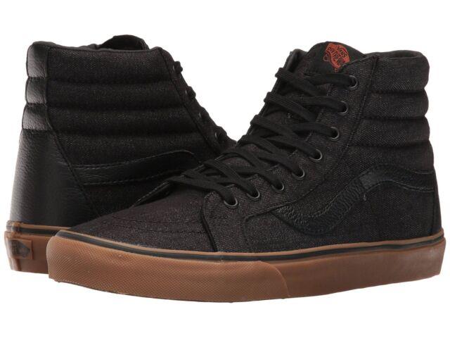 vans unisex black casual shoes