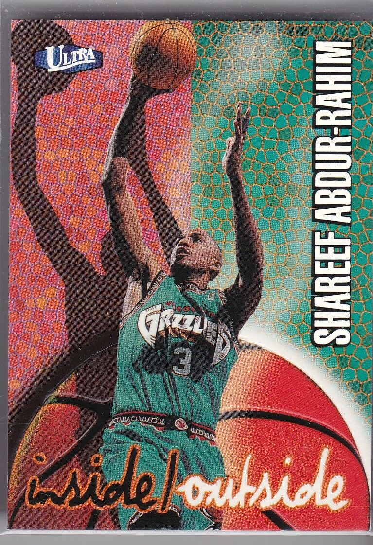 1997 Fleer ef Abdur Rahim 1 Basketball Card