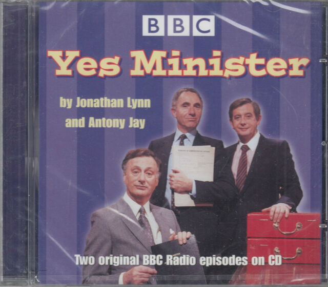 Yes Minister Original Radio Episodes Audio CD NEW Economy Drive/Writing On Wall