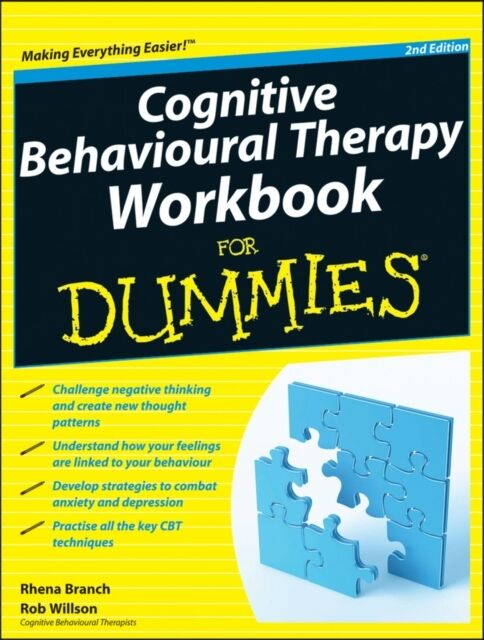Cognitive Behavioural Therapy Workbook For Dummies (Paperback), B. 9781119951407