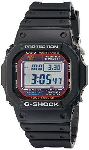 Casio G Shock Tough Solar Radio Clock Multiband 6 Gw-M5610-1 F/S /C1