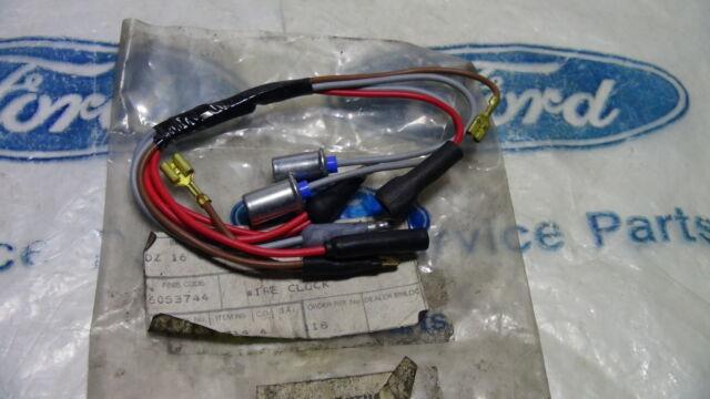 mk2 escort rs2000 mexico genuine ford clock wiring assy ebay ford model a wiring diagram mk2 escort rs2000 mexico genuine ford nos clock wiring assy