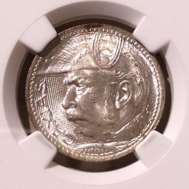 Brazil 1935 Duke of Caxias 2000 Reis NGC MS 65