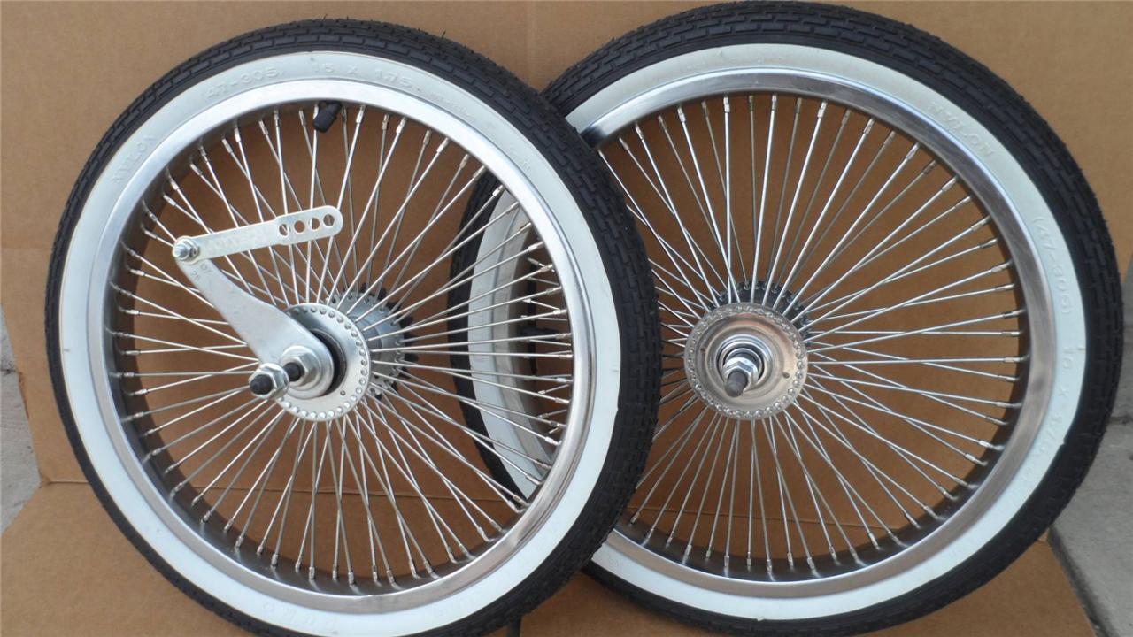 16 Lowrider Bicycle Dayton Wheels 72spoke Bmx Schwinn W Tires