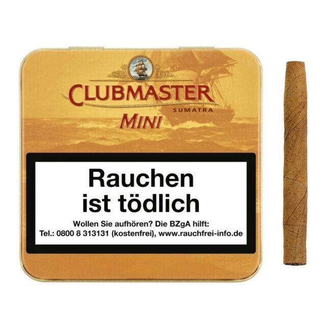 Clubmaster Mini Sumatra No.121 20 St/Pck(0,22€=1St)