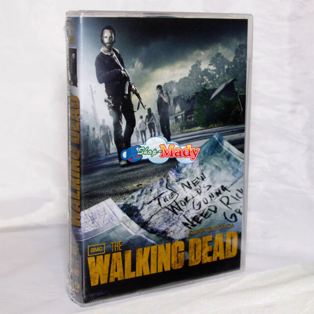The Walking Dead TEMPORADA 5 DVD Español Latino Región 1 Y 4 | eBay