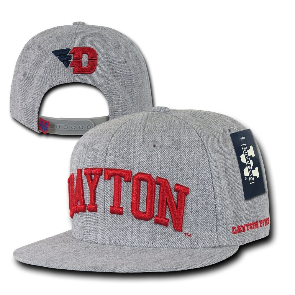 e5553d783ee Heather Gray Dayton University UD Flyers Flat Bill Snapback Baseball Hat Cap.  Be the first to write a review. About this product. 9 watching. Picture 1  of 1