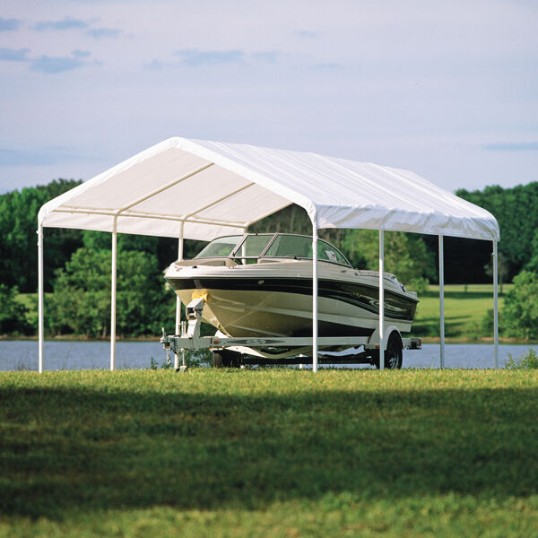 12x20 Shelter Canopy Commercial Grade Carport Party Tent Storage Shade Event | eBay & 12x20 Shelter Canopy Commercial Grade Carport Party Tent Storage ...