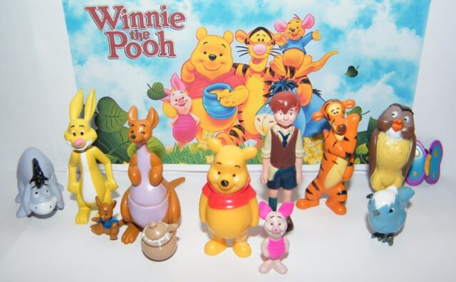 Disney winnie the pooh figure set of 12 with pooh christopher disney winnie the pooh figure set of 12 with pooh christopher robin piglet etc voltagebd Images