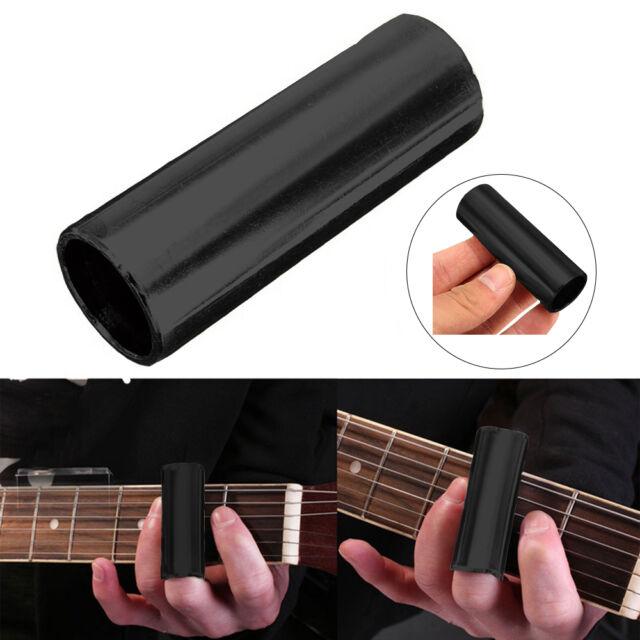 60mm Black High Quality Chromed Steel Guitar Finger Slide
