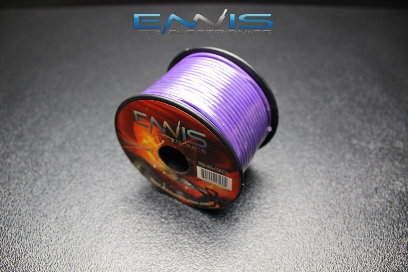 18 Gauge Wire by 100 FT Purple Spool Primary AWG Copper Clad   eBay