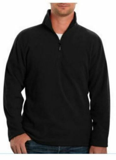 Kirkland Signature Men's Active 1/4 Zip Pullover Sweater 100 ...