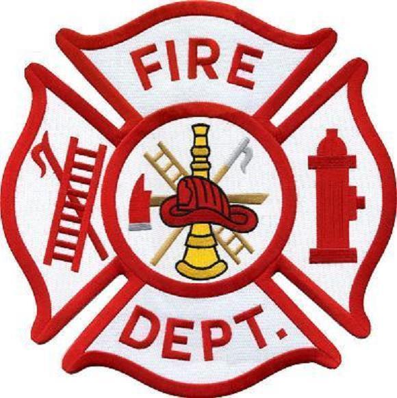 Generic Maltese Cross Fire Department Patch Emblem | EBay