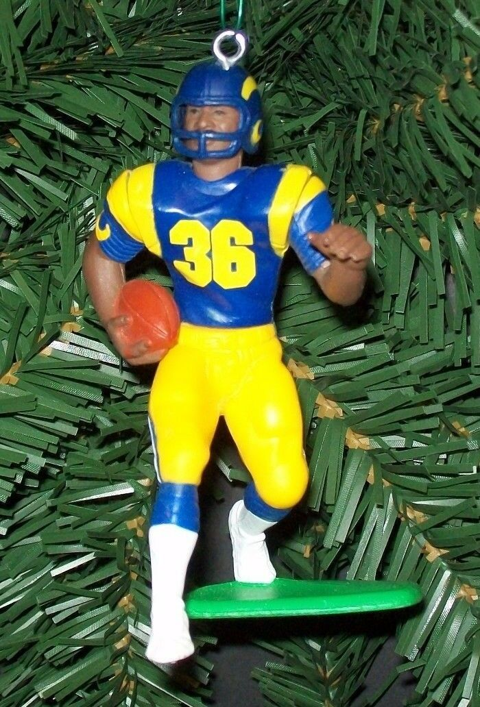 Picture 1 of 1 - St. Louis Rams Football Christmas Ornament EBay