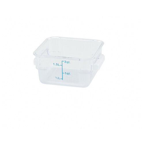 WinCo Pcsc 2c Clear 2 Quart Storage Container eBay