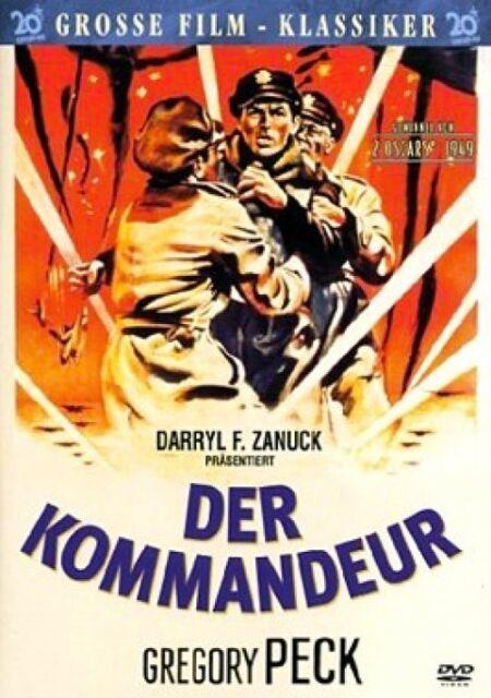 Der Kommandeur (Grosse Film-Klassiker) Schuber, Booklet, Postkarte Neu