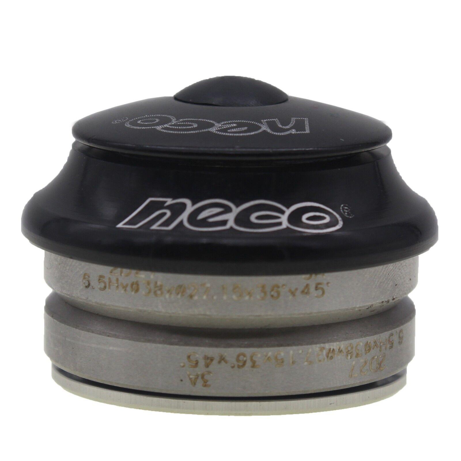 Neco 1 25 4mm Integrated Bike Headset 38mm Bearing Silver Ebay