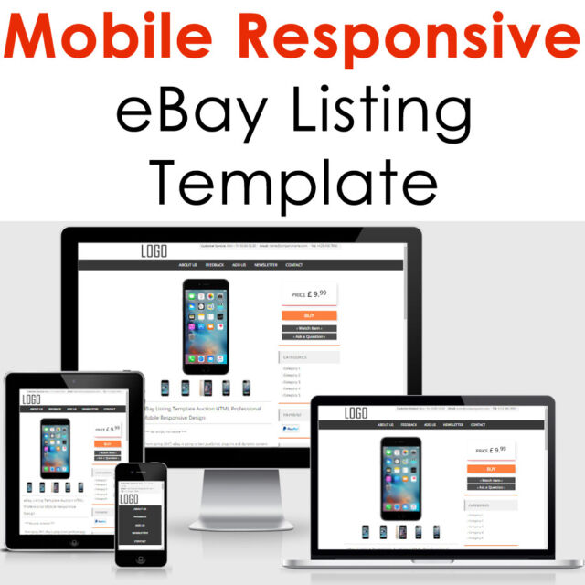 Custom ebay listing template auction html professional mobile custom ebay listing template auction html professional mobile responsive design pronofoot35fo Gallery